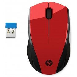 Souris sans fil HP X3000 / Rouge