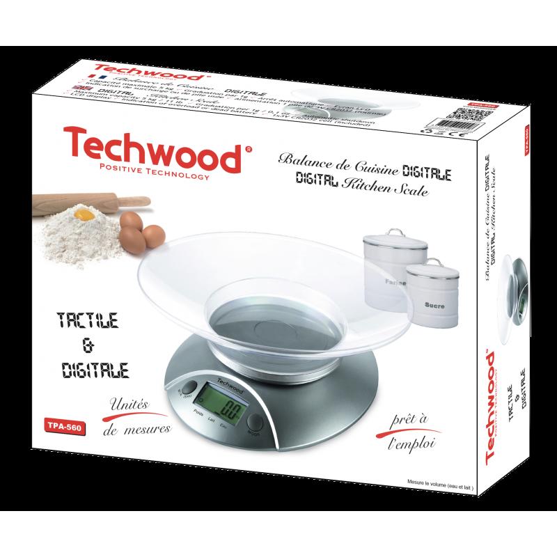 Balance de cuisine digitale Techwood TPA-560