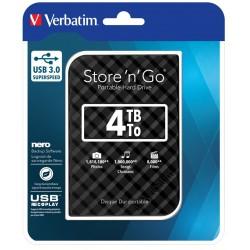 Disque Dur externe Verbatim Store'n' Go USB 3.0 / 4 To