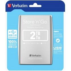 Disque Dur externe Verbatim Store'n' Go USB 3.0 / 2 To