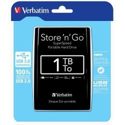 Disque Dur externe Verbatim Store'n'Go 1 To / USB 3.0