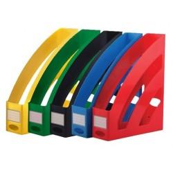 Porte-revues en Plastique ARK 2070 / Jaune