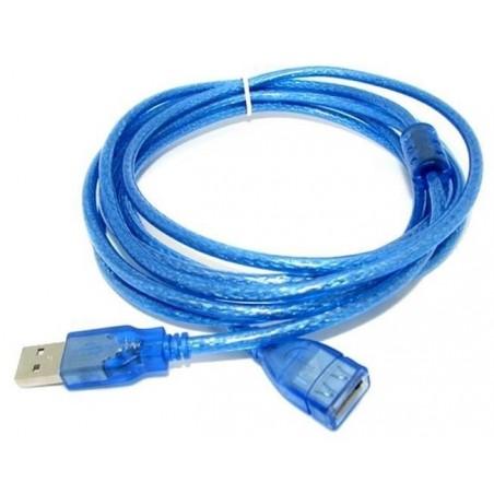 Rallonge USB Mâle/Femelle Blindé 3M