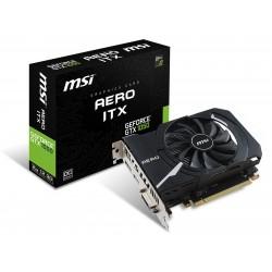 Carte graphique MSI GeForce GTX 1050 AERO ITX 2Go OCV1