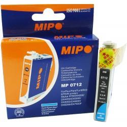 Cartouche Adaptable Mipo Compatible Epson MP0712 / Cyan