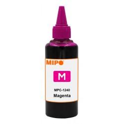 Bouteille d'encre Adaptable Mipo pour Canon 100 ml / Magenta