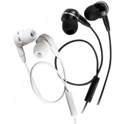Écouteurs intra-auriculaires avec micro Promate EarMate-iS / Blanc