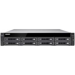Serveur NAS professionnel 8 Baies QNAP TS-EC880U-E3-4GE-R2 / Sans Disque