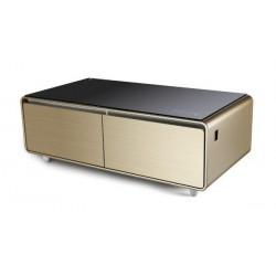 Table basse connectée avec Réfrigérateur intégré MontBlanc TBSM150B 150L / Gold