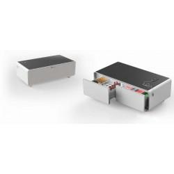 Table basse connectée avec Réfrigérateur intégré MontBlanc TBSM150B 150L / Blanc