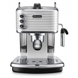 Machine à café Delonghi Scultura ECZ 351 / 1100W / Blanc
