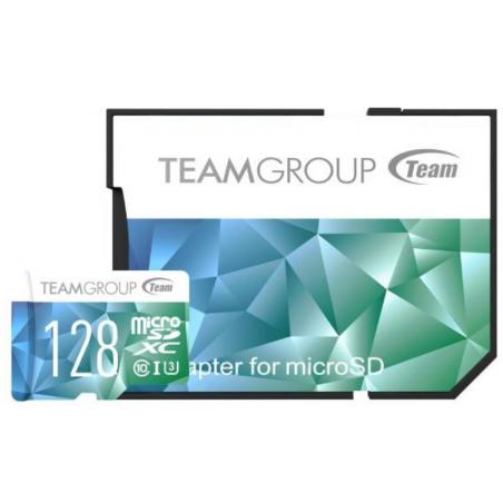 Carte mémoire TeamGroup Micro SDHC/SDXC UHS-I U3 / 128 Go / Class10