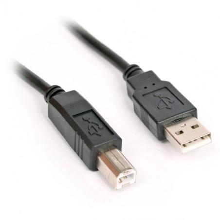 Câble Imprimante USB 2.0 / 5M / Noir