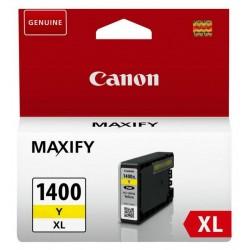 Cartouche Originale Canon MAXIFY PGI-1400XL / Yellow