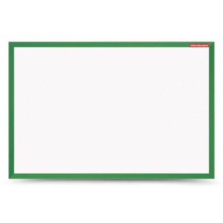 Tableau Blanc magnétique cadre en bois 60 x 40 / Vert