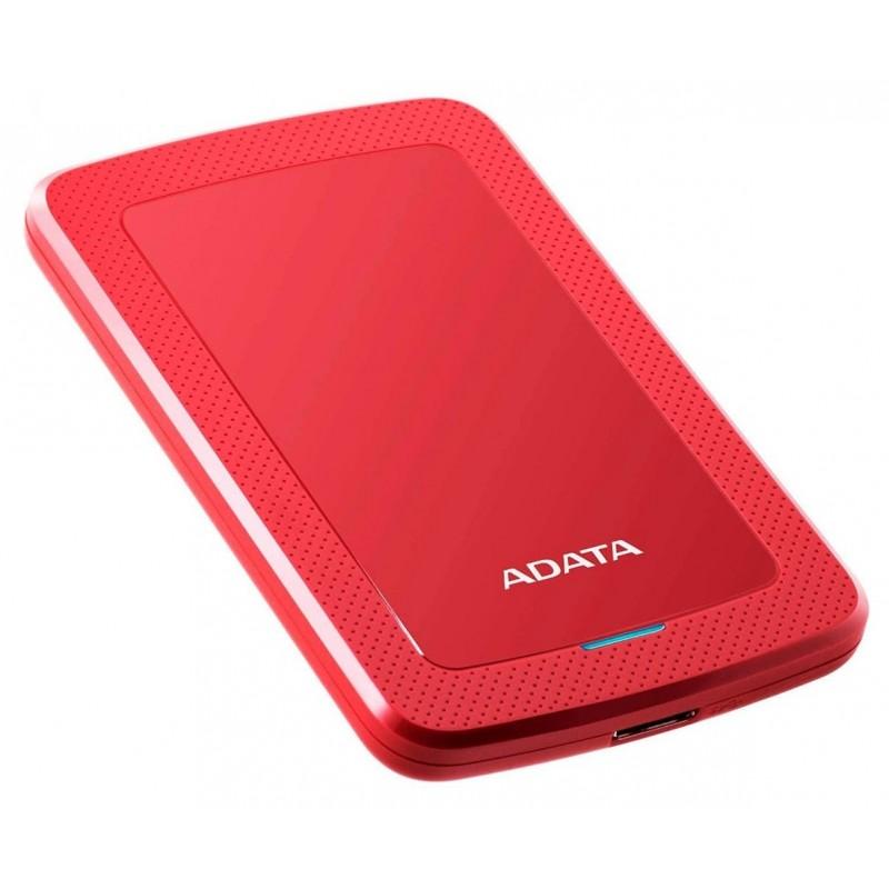 DISQUE DUR EXTERNE ADATA HV300 USB 3.1 / 1 TO / ROUGE