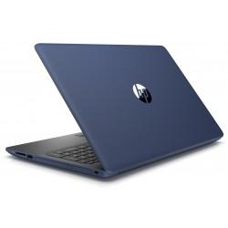 Pc portable HP 15-da0005nk / i3 7è Gén / 8 Go / Bleu + SIM Orane Offerte 30 Go