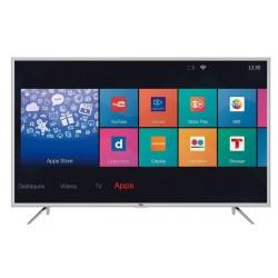 """Téléviseur TCL 39"""" LED Full HD Smart Android TV / Wifi avec Récepteur intégré / Silver"""