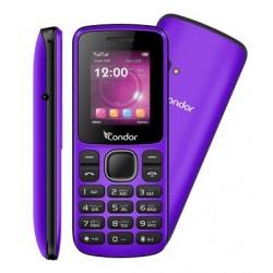 Téléphone Portable Condor F1 Mini / Double SIM / Violet + SIM Offerte