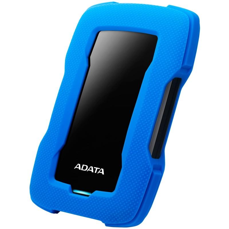 DISQUE DUR EXTERNE ADATA ANTI-CHOC HD330 USB 3.1 / 1 TO / BLEU