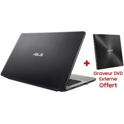 Pc portable Asus VivoBook Max X705UB / i5 8è Gén / 24 Go + Graveur DVD + SIM Orange Offerte 30 Go