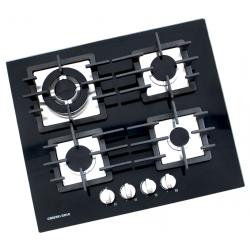 Plaque de cuisson en verre Général Gold 4 feux / Noir