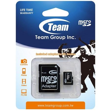 Carte mémoire TeamGroup Micro SD 8 Go Class10