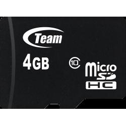 Carte mémoire TeamGroup Micro SD 4 Go Class10