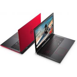 Pc Portable Dell Inspiron 7577 / i7 7è Gén / 12 Go / Rouge + SIM Orange Offerte 30 Go + Internet Security Bitdefender