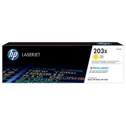 Toner Grande Capacité Original HP 203X pour LaserJet / Yellow