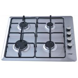 Plaque de cuisson Landy 4 feux 60 cm / Inox