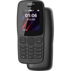 Téléphone Portable Nokia 106 / Double SIM / Gris