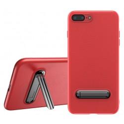 Etui avec Support Baseus pour iPhone 8 Plus / Rouge