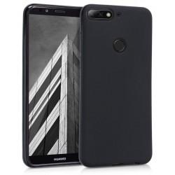 Etui en Silicone Terrys pour Huawei Y7 Prime 2018 / Noir