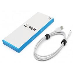 Câble USB vers Micro USB Anker 6ft 1.8m / Blanc