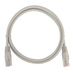 Câble Réseau CAT 5E UTP 1M / Gris