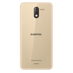 TÉLÉPHONE PORTABLE EVERTEK V5 / 3G / DOUBLE SIM / GOLD
