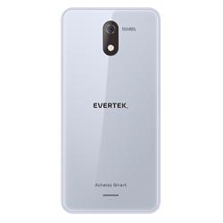 TÉLÉPHONE PORTABLE EVERTEK V5 / 3G / DOUBLE SIM / SILVER