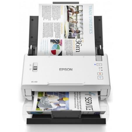 Scanner Epson Workforce DS-410 couleur haute vitesse compact A4 (USB)