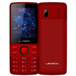 Téléphone Portable Leagoo D2 / Double SIM / Rouge