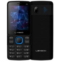 Téléphone Portable Leagoo D2 / Double SIM / Noir & Bleu