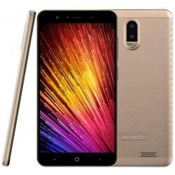 Téléphone Portable Leagoo Z7 / 4G / Double SIM / Bleu + Baguette Selfie + SIM Orange Offerte (40 Go)
