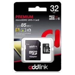 Carte mémoire Addlink Micro SD 32 Go Class10 UHS-I