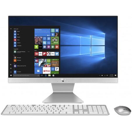 PC de bureau All-in-One Asus Vivo AiO V222GAK / Dual Core / Blanc