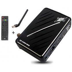 Récepteur Samsat Mini HD 5300 / Wifi 2 ans  Sharing Vanilla + 2 ans  IPTV Vanilla + 2 ans SAM IPTV
