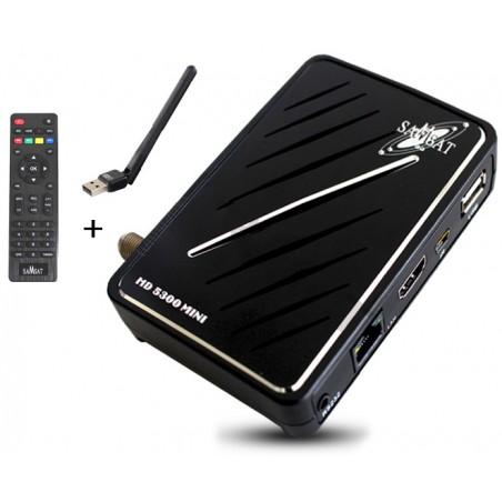 Récepteur Samsat Mini HD 5300 / Wifi