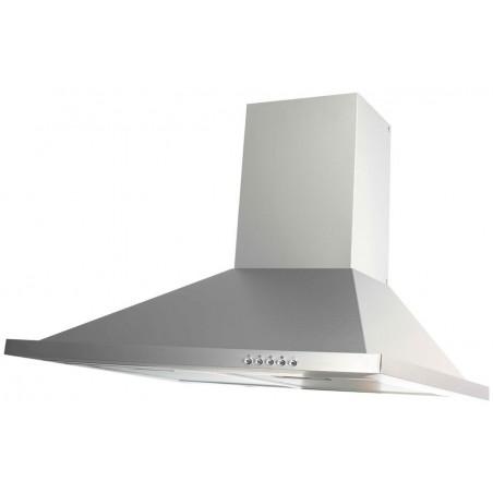 Hotte aspirante pyramidale Nexus 90 cm / Inox