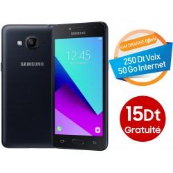 Telephone Portable Samsung Galaxy Grand Prime Plus Double SIM Noir Ebony 15 Dt Gratuite Orange Offerte 50 Go