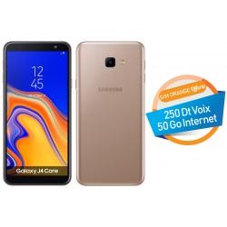 Telephone Portable Samsung Galaxy J4 Core Double SIM Gold Orange Offerte 50 Go
