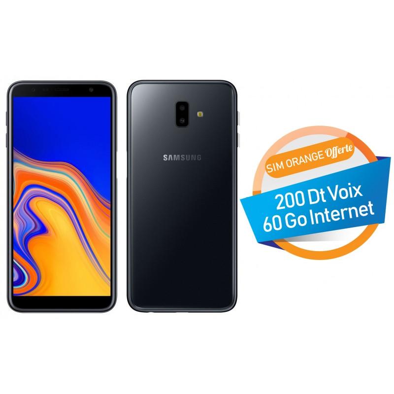 Samsung Galaxy J6 32go Noir Tunisianet